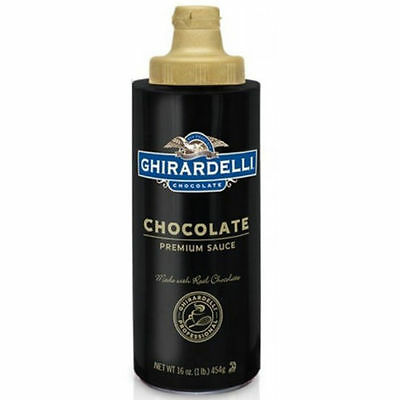 Ghirardelli Chocolate Sauce 16 Oz Squeeze sauce