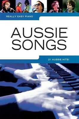 Really Easy - Aussie Songs Piano Book *NEW* Sheet Music, 21 Australian Hits