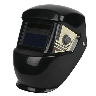 PRO Solar Powered Auto Darkening Welding Mask Helmet ARC TIG MIG Grinding 63
