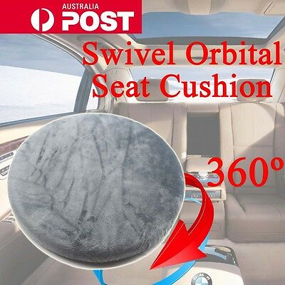 Mobility 360 deg Swivel Orbital Seat Cushion for Car Home Office Caravan Chair
