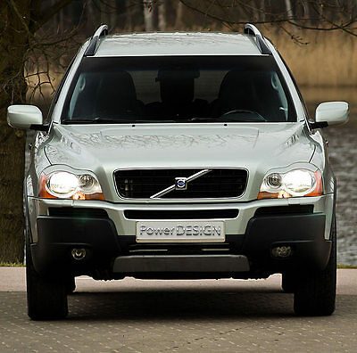 Eyebrows for VOLVO XC90 2002-2014  headlight eyelids lids ABS Plastic