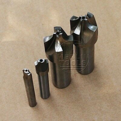 Select R1 - R25, 2 Or 4 Flutes Hss Corner Rounding Radius End Mill Cutter