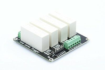 XINY 4-channel Low Level Trigger Solid State Relay Module DC-DC load 5A switch