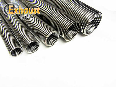 Heavy Duty Universal Flexible Stainless Steel Flexi Tube Exhaust Pipe 20mm 1m