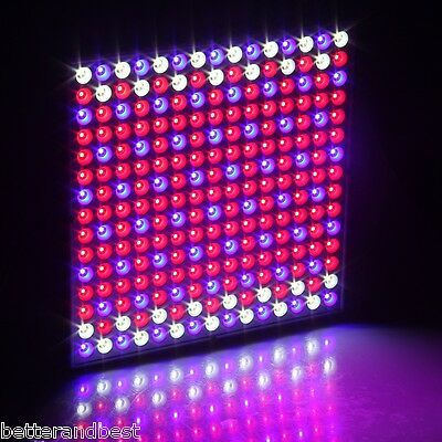 45W 225 SMD LED Hydroponic Plant Grow Light Flower Vegetable Panel +Hanging Kit