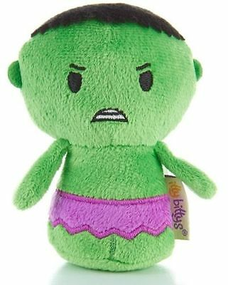 Incredible Hulk Itty Bittys Avengers Marvel Comics Plush Soft Toy 4 Inch New