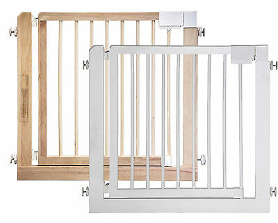 """Door- and Stair Gate KOLBY 31.5"""" - 39.4"""" Saftygate Wooden Barrier Kid Child Baby"""