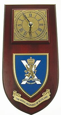 Royal Regiment Of Scotland Classic Style Hand Made To Order  Wall Clock