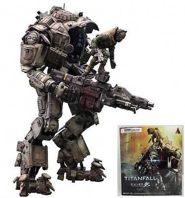 Play Arts Kai Atlas&Pilot Titanfall Armor Robot Action Figure CHN Toy Statue 10""