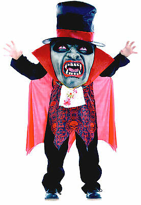 VAMPIRE GIANT MAD HATTER | BOYS Size | Scary Halloween Fancy Dress Party Costume