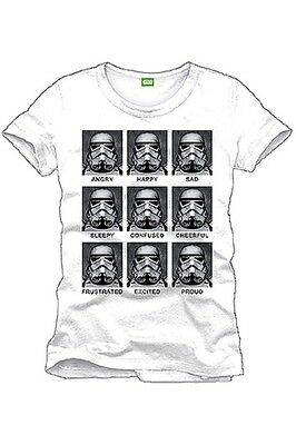 Star Wars T-Shirt Trooper Emotions - Größe M