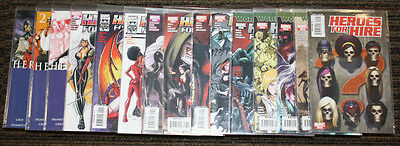 Marvel Heroes For Hire (2006) # 1-15 COMPLETE SET - Palmiotti Gray Tucci