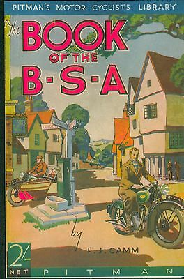 BSA Book FJ Camm 1937 Empire Star  B25 G14 M19 M20 M23 Y13 M24 Gold Star