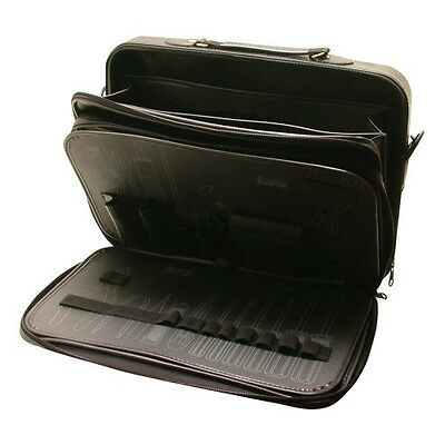 2-in-1 Waterproof Tool Zipper Bag Briefcase - Double Sided Tool Case w/o Tools