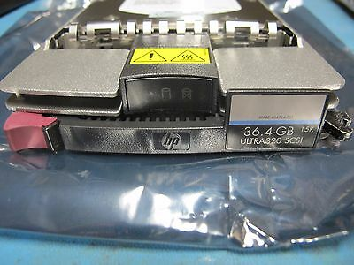 LOT of 10 HP 36.4GB 15000Rpm Ultra320 SCSI Hard Drive 286776-B22
