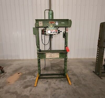 12102 Dake 50 Ton Hydraulic H-Frame Press, Model 5-050