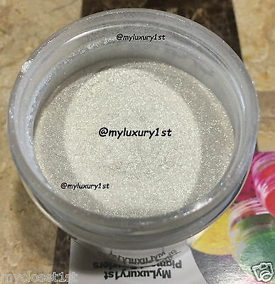 White Pearl Shimmer Mica Pigment Powder Soap Cosmetic Bath Lip Sparkle 1 oz Jar