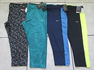 Nike Dri Fit Womens Performance Running Cropped Leggings Plus Size Nwt