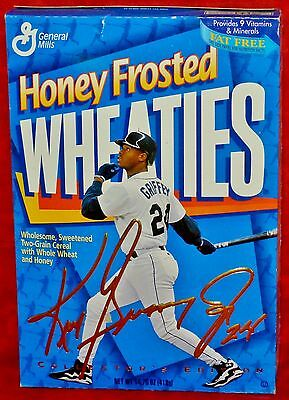Ken Griffey Jr Honey Frosted Wheaties Box 1998 Full Unopened Sealed (#13)