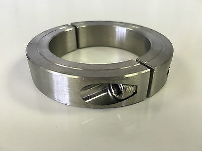 """(1pc) 2"""" Inch Stainless Steel Double Split Shaft Collar - 2SSC-200"""