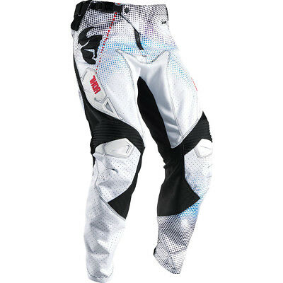 Thor 2017 Mx Gear NEW Fuse AIR Lit Vented White Red Motocross Pants