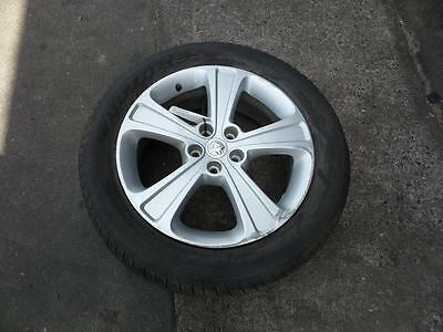 Holden Captiva 1 X Mag Wheel, Factory, 18X7In, 5 Spoke, Cg, 09/06-02/11