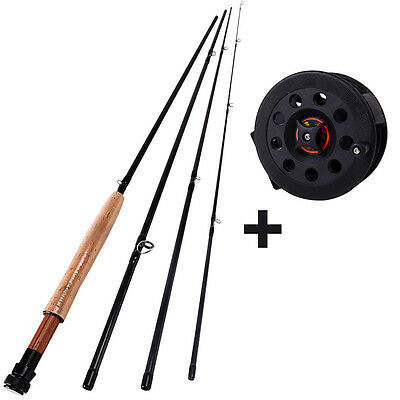 Telescopic Fly Fishing Rod with Reel Combo Trout Saltwater 2.7m Fly Fishing Set