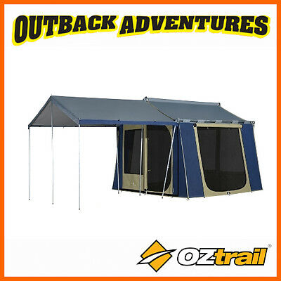 OZTRAIL 10 x 8 CANVAS CABIN TENT 5 PERSON TENT