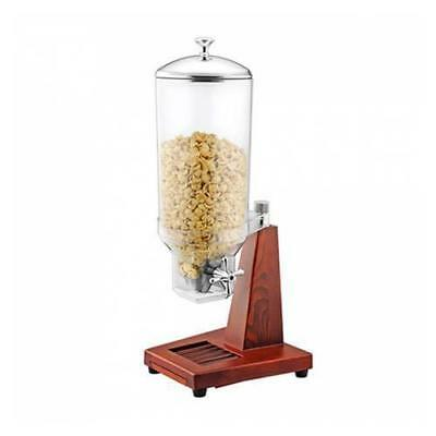Single Cereal Dispenser, Wood Base, 7L, Sunnex, Commercial Quality Breakfast NEW