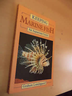 Keeping Marine Fish An Aquarium Guide Fishkeeping Book Graham Lundegaard