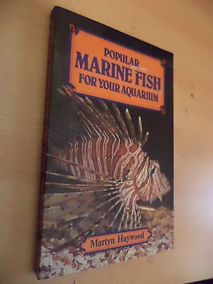 Popular Marine Fish For Your Aquarium Fishkeeping Guide Book Martyn Haywood