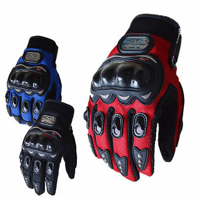 Motorcycle Motorcross Bicycle Bike Riding Full Finger Protective Cycling Gloves