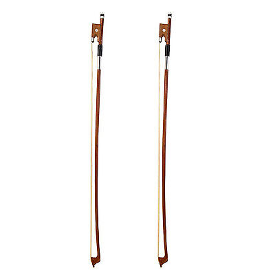 Full Size 4/4 Arbor Violin Bow Fiddle Bow Horsehair Exquisite for Violin BOT