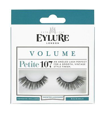 Eylure False Eyelashes - VOLUME Style 107 PETITE - Genuine Eylure False Lashes!