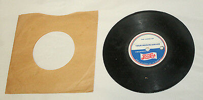 WWII Pepsi Cola Double Dot YOUR MAN IN THE SERVICE 45 RPM Record #2