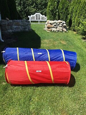 2 Play Tunnels / Tents / Maze Toddler Indoor Outdoor Collapsible 2 SIZES. Free S