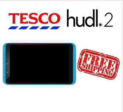 Tesco Hudl 2 Turquoise Replacement LCD Digitizer Assembly Used Grade B