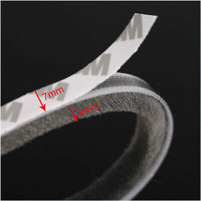 7mm x 8mm self adhesive window door draught excluder brush pile sealing strip