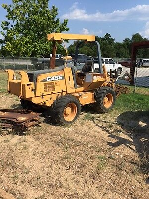 2002 Case 960 Turbo Trencher & Plow Vermeer Ditch Witch Astec RT960
