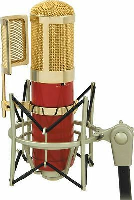 MXL GENESIS Flagship Tube Condenser Microphone with High-Isolation Shockmount,