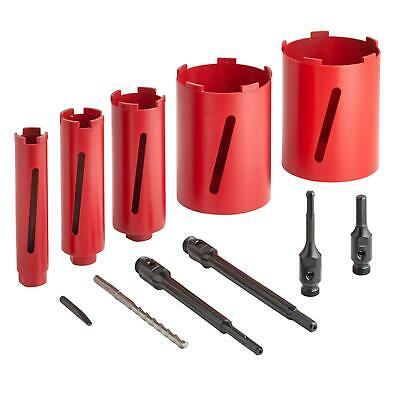 DTW Dry Diamond Core Drill Bit Plumbers/Builders Premium Segment Hole Cutter