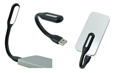 Lampe Universelle Flexible USB pour PC / MAC / Ordinateur / Tablette ... (NOIR)