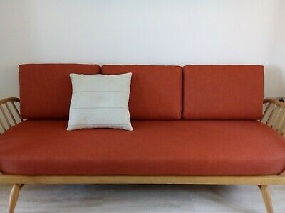 CUSHION SET MADE TO ORDER for an ERCOL DAY BED/SOFA STUDIO COUCH (other colours)