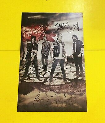 "PAPA ROACH Poster 11"" x 17"" Hand Signed/ Autographed"