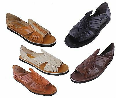MEXICAN SANDALS Men's Huarache Sandals - ALL COLORS - Leather Huarache Sandal