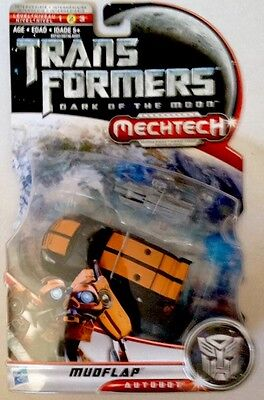 TRANSFORMERS - Dark Of The Moon MUDFLAP MECHTECH Weapons System