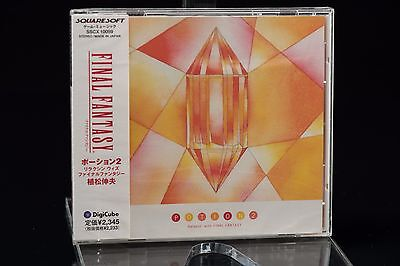 Final Fantasy Potion 2 Relaxin' with Final Fantasy Soundtrack SSCX-10059 NEW