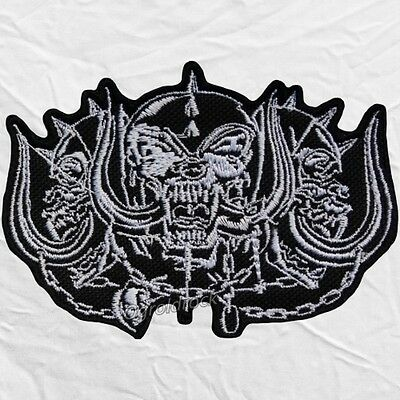 Snaggletooth Warpig Motorhead Inferno Logo Embroidered Patch Lemmy Kilmister