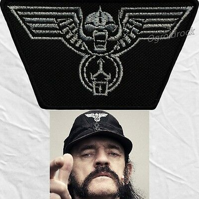 Motorhead Replica Winged Warpig Hat Embroidered Patches Lemmy Kilmister Uniform