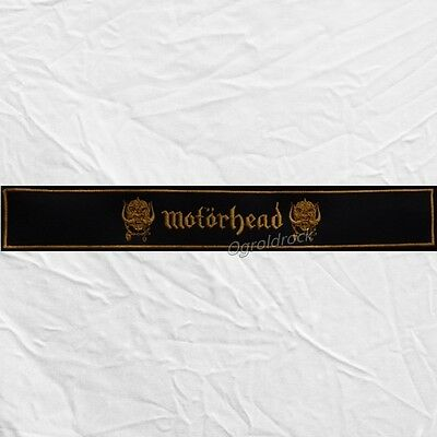 Motorhead Replica Hammered Lemmy Left Arm Band Jacket Sleeve Embroidered Patch